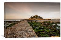 Early Light at St Michael's Mount, Canvas Print