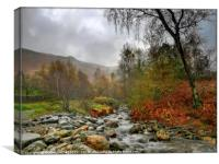 """Misty morning in the Lake District"", Canvas Print"