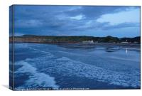 """""""Approaching night over Saltburn"""", Canvas Print"""