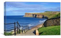 """Saltburn-by-the-sea"", Canvas Print"