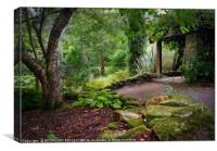 """""""Little Arbour in the wood 2"""", Canvas Print"""