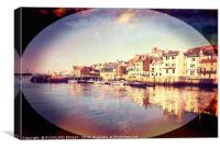 """""""Artistic Whitby"""", Canvas Print"""