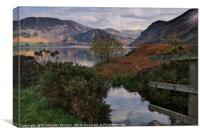 """Sun up at Ennerdale Water"", Canvas Print"