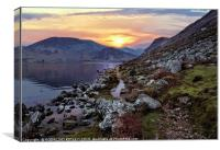 """Colourful Ennerdale"", Canvas Print"