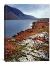 """Cool blue Wastwater"", Canvas Print"