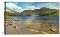 """""""Wastwater and Scafell range"""", Canvas Print"""