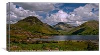 """Clouds over Wastwater"", Canvas Print"