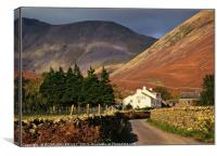 """The Inn Wasdale Head"", Canvas Print"