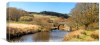 Dartmoor Two Bridges, Canvas Print