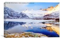 Lofoten Pond, Canvas Print