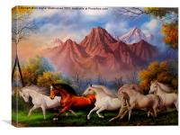 A nice painting,, Canvas Print