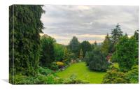 A beautiful view of Queen Elizabeth Park,, Canvas Print