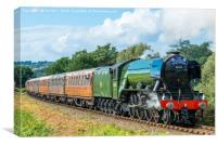 Flying Scotsman, Severn Valley 25/09/2016, Canvas Print