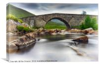 Garva Bridge, Canvas Print