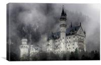 Neuschwanstein Castle, Canvas Print
