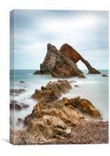 Bow Fiddle, Portknockie, Scotland, Canvas Print