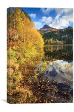 Autumn at Glencoe Lochan.tif, Canvas Print