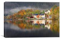 Kenmore Reflections, Canvas Print