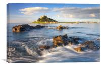Morning Light at St Michael's Mount, Canvas Print