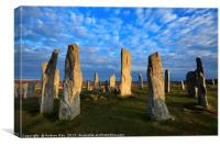 Late Light at Callanish, Canvas Print