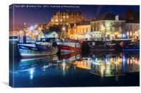 Twilight Reflections (Padstow).tif, Canvas Print