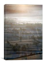 First Light on the Hope Valley, Canvas Print