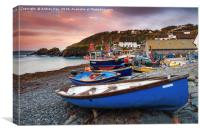 Cadgwith at Sunrise, Canvas Print