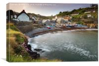 Spring  at Cadgwith, Canvas Print