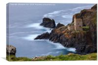 Engine House at Botallack by Andrew Ray, Canvas Print