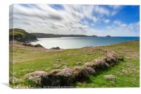 Spring afternoon (Port QuIn Bay), Canvas Print