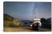 Milky Way over Mullion Cove, Canvas Print