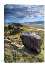 Newstones (Peak District), Canvas Print