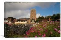 St Georges Church, Dunster, Canvas Print