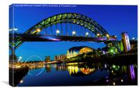 Tyne Bridge, Newcastle, Canvas Print
