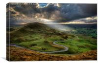Snake Pass, Canvas Print