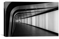 Channel Tunnel, Canvas Print
