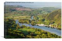 Windermere from Gummers How, Canvas Print