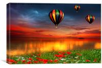 All things bright and beautiful , Canvas Print