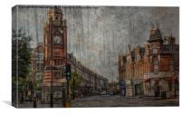 life in crouch end , Canvas Print
