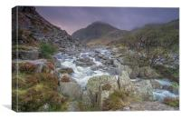 Snowdonia morning, Canvas Print