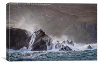 Clogher Bay, Dingle, Ireland., Canvas Print