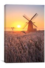Herringfleet Mill, Canvas Print