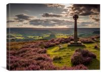 Evening Over Rosedale, Canvas Print