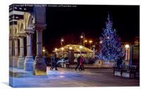 Night out in Southport, Canvas Print