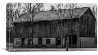 Old Mill Barn, Canvas Print