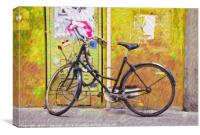 The Bicycle, Canvas Print