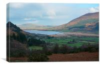 Autumn at Bassenthwaite lake, Canvas Print