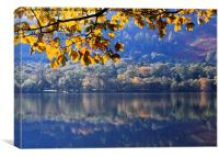 Autumn at Loweswater, Canvas Print