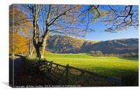 Autumn In Wasdale, Canvas Print