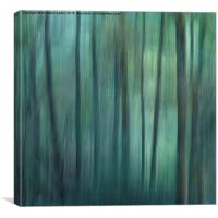 Forest greens, Canvas Print